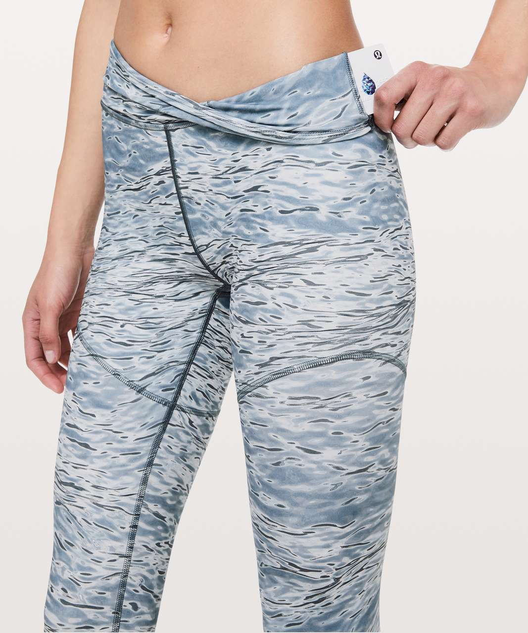 "Lululemon Arise Tight *lululemon lab 28"" - Dawn Blue Multi"