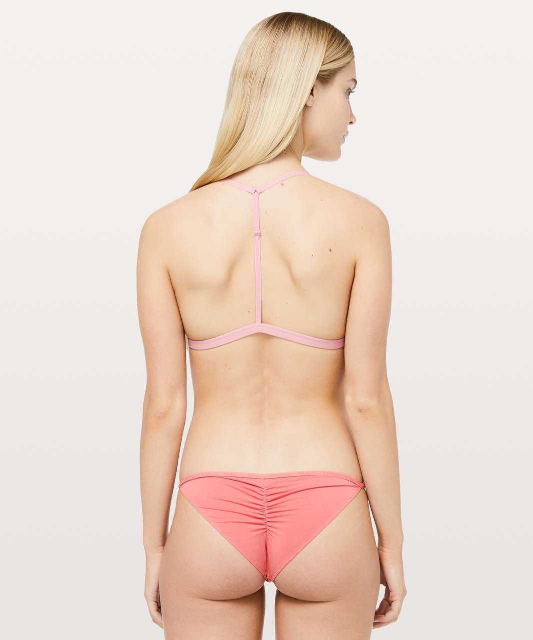 Lululemon Simply There Triangle Bralette - Faint Coral