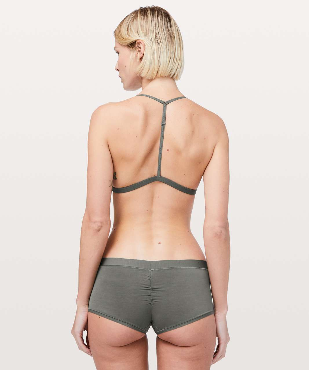 Lululemon Simply There Triangle Bralette - Grey Sage