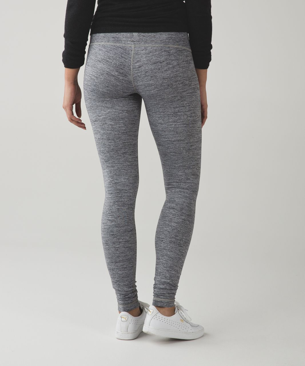 Lululemon Wunder Under Pant III - Space Dye Camo Black Dark Slate