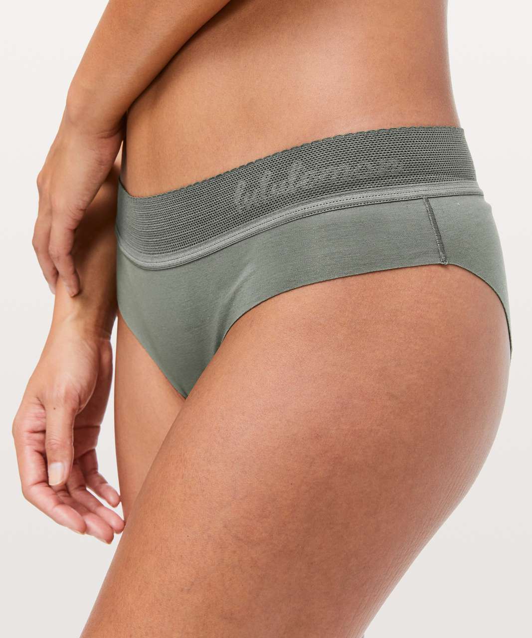 Lululemon Ever Essentials Bikini - Grey Sage