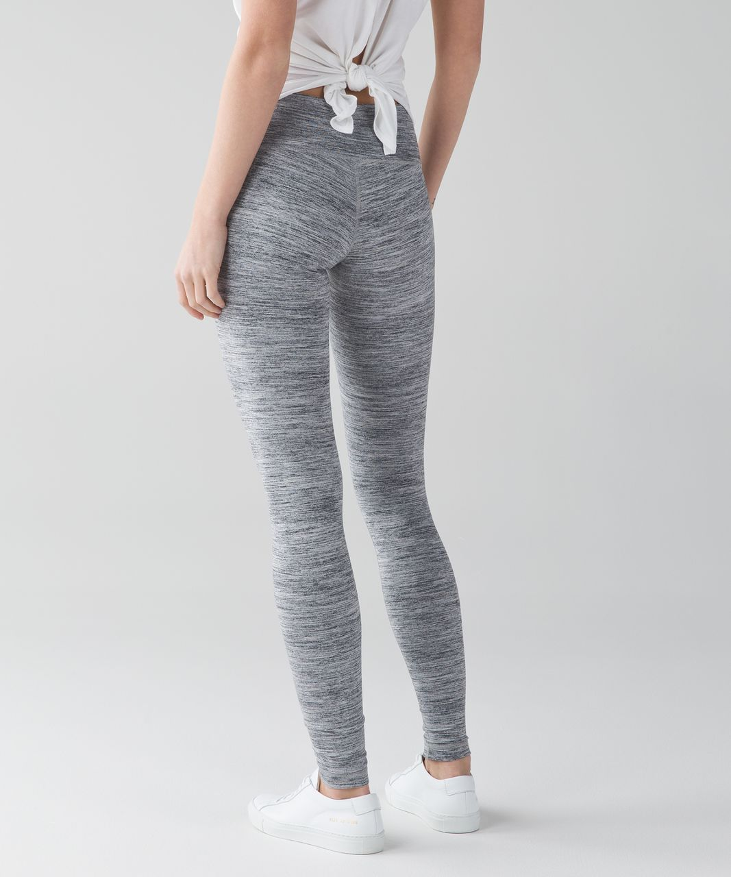 Lululemon Wunder Under Pant III - Space Dye Camo Seal Grey Deep Coal