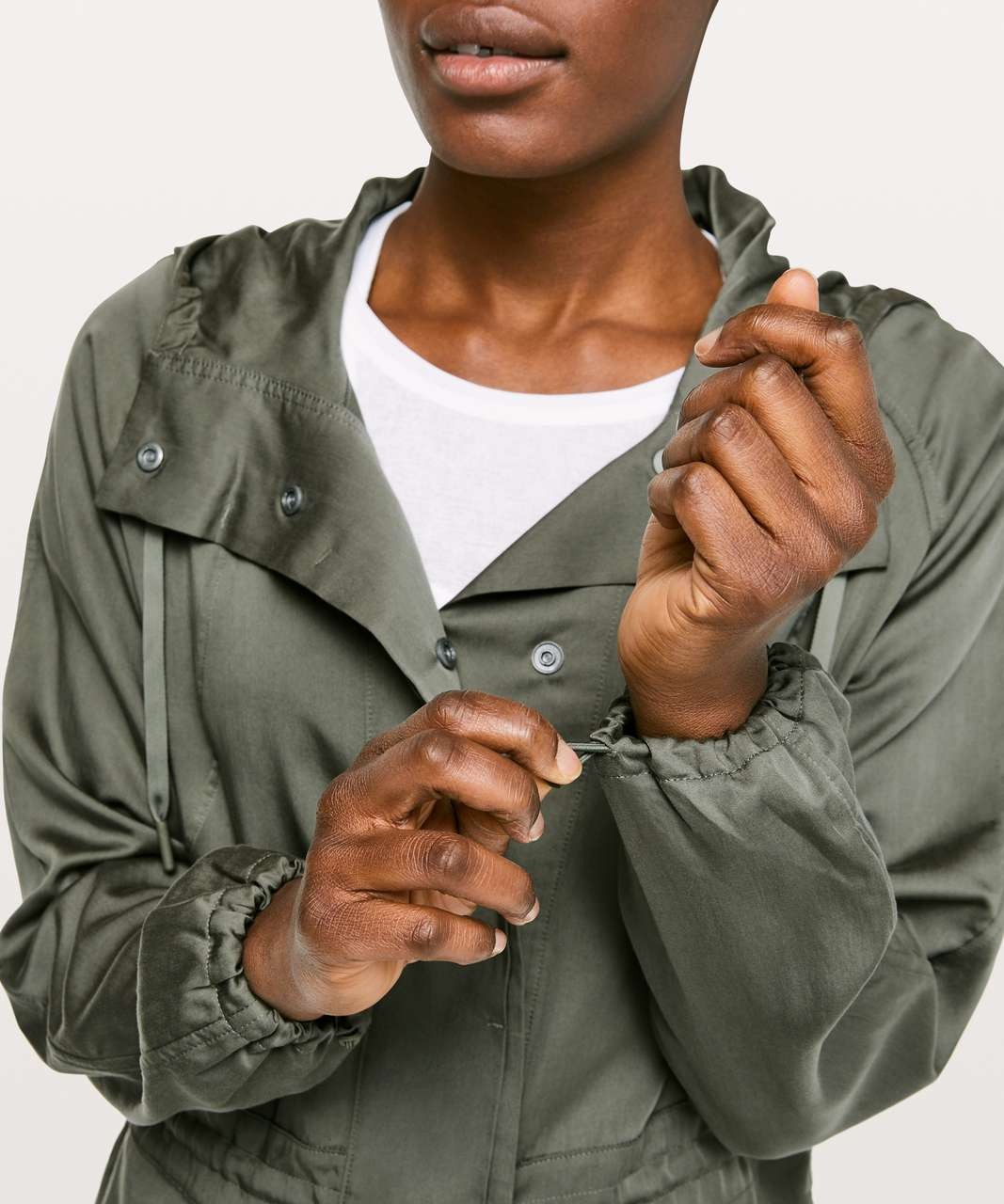 Lululemon City Stroll Jacket - Grey Sage