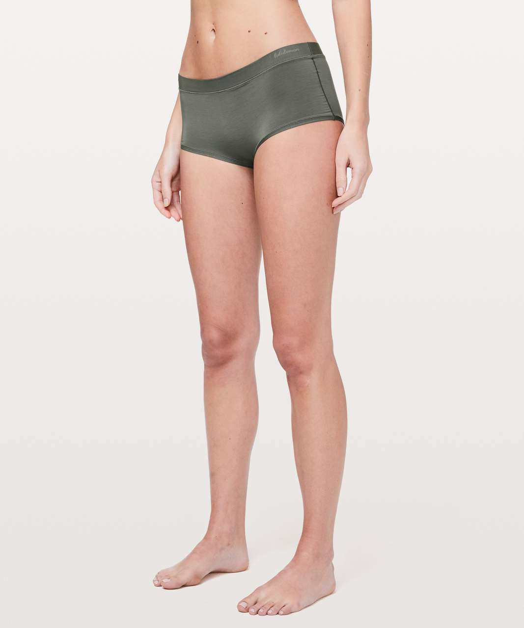 Lululemon Simply There Boyshort - Grey Sage (First Release)