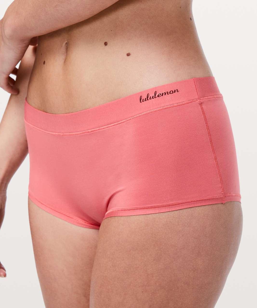 Lululemon Simply There Boyshort - Blush Coral