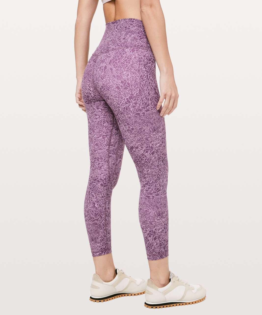 """Lululemon Align Pant II *25"""" - Arabesque Antoinette Smoky Quartz"""