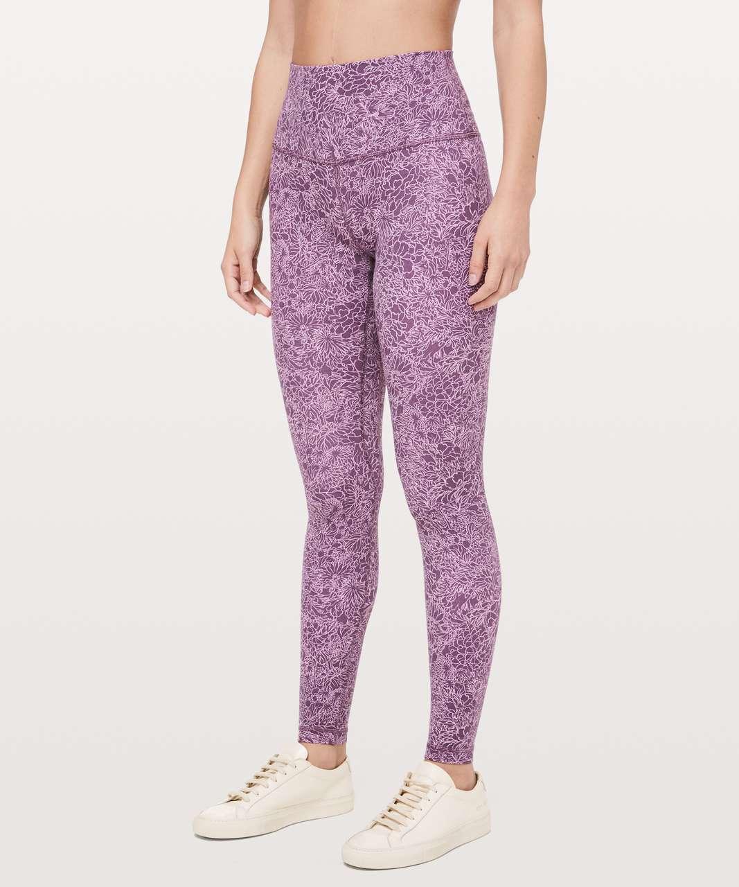 """Lululemon Align Pant *Full Length 28"""" - Arabesque Antoinette Smoky Quartz"""