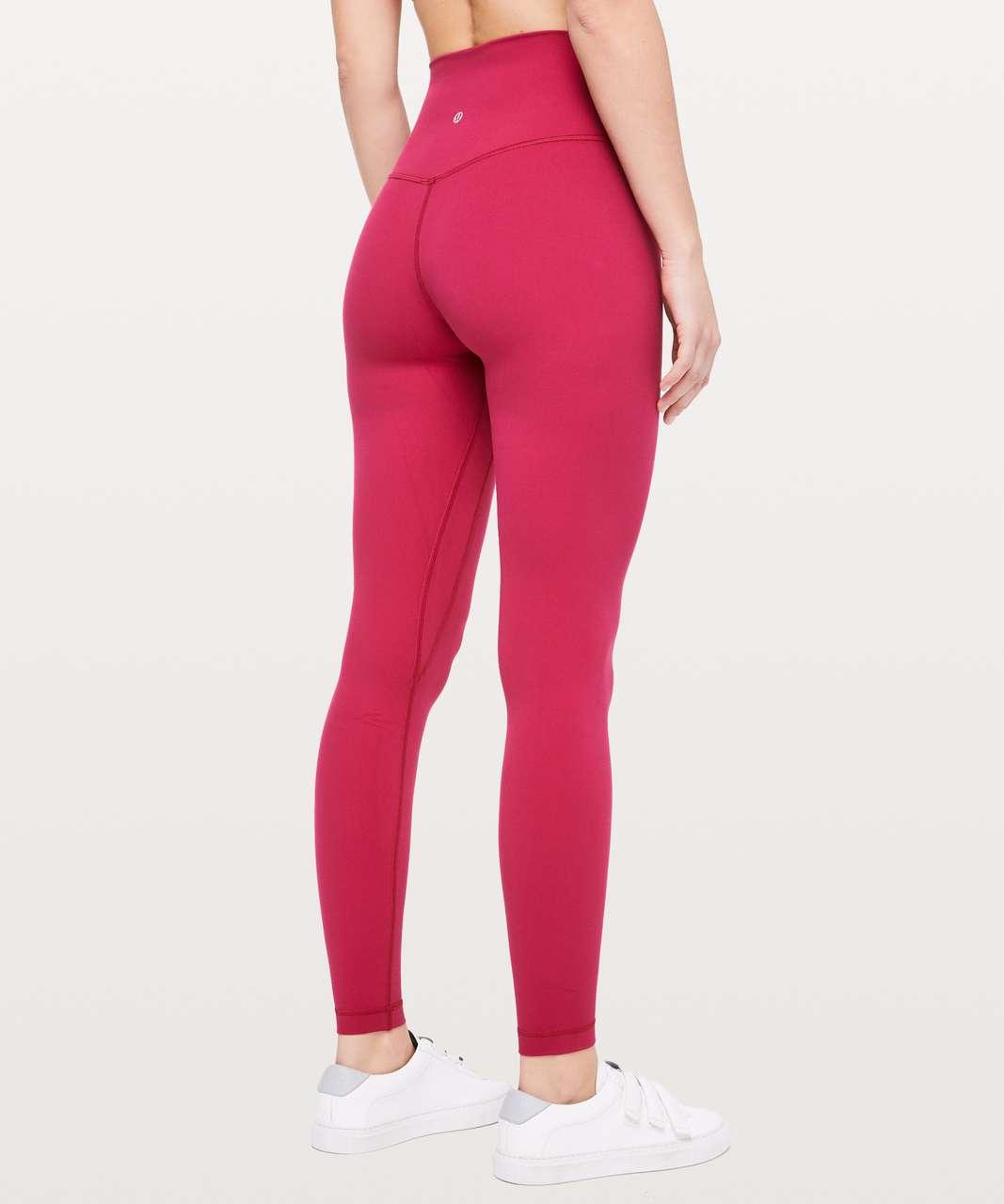 """Lululemon Align Pant *Full Length 28"""" - Ruby Red"""