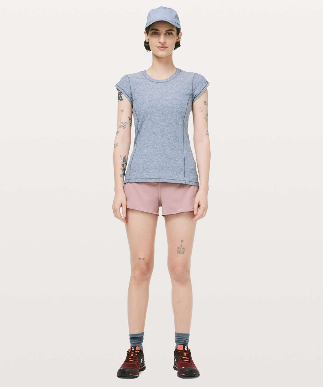 "Lululemon Speed Up Short *2.5"" - Copper Coil"