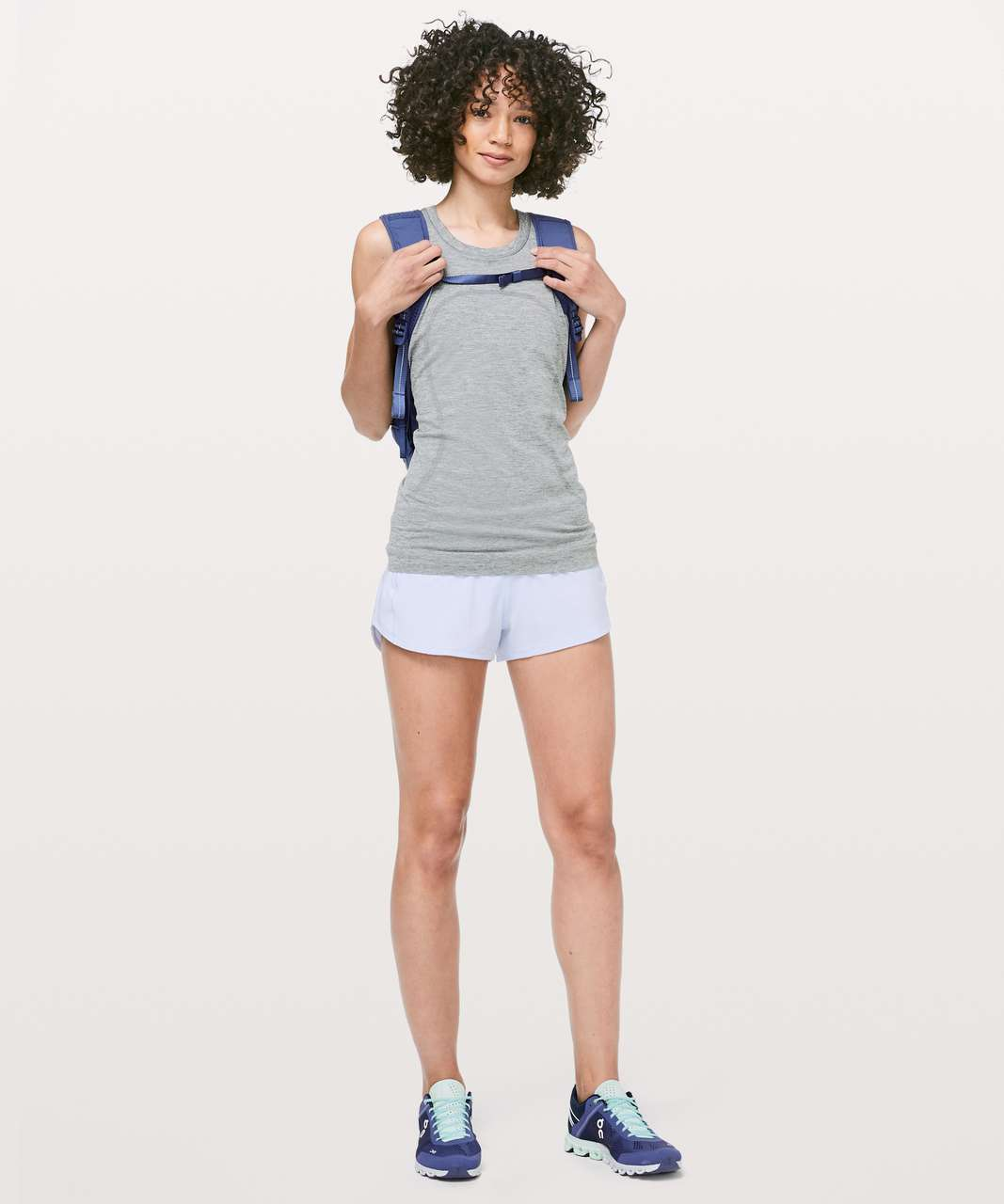 "Lululemon Speed Up Short *2.5"" - Serene Blue"