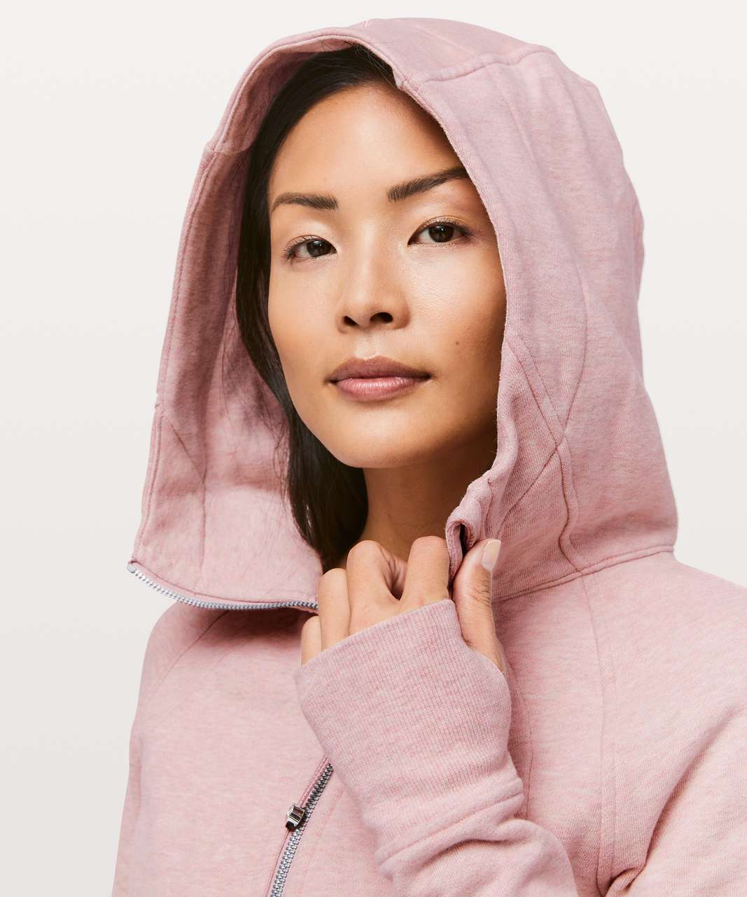 Lululemon Scuba Hoodie *Light Cotton Fleece - Heathered Mink Berry
