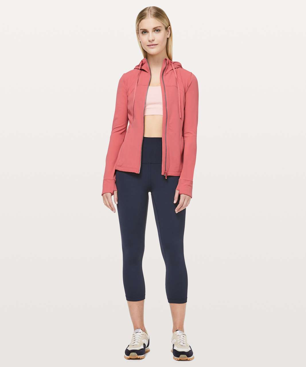 Lululemon Hooded Define Jacket *Nulu - Blush Coral
