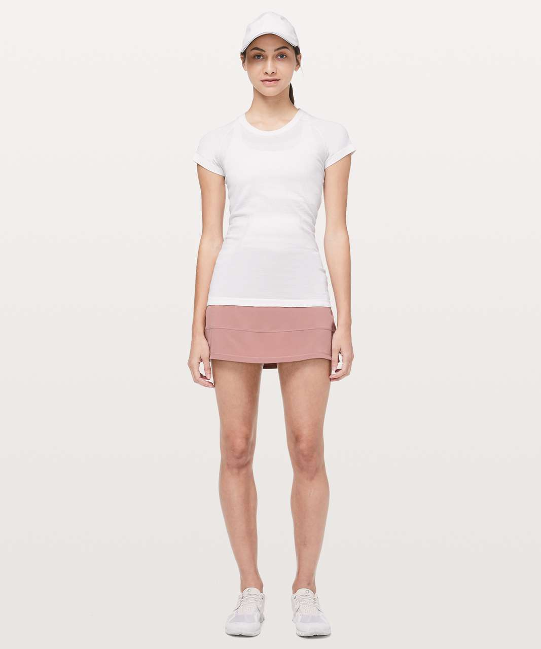 """Lululemon Pace Rival Skirt (Regular) *4-way Stretch 13"""" - Copper Coil"""