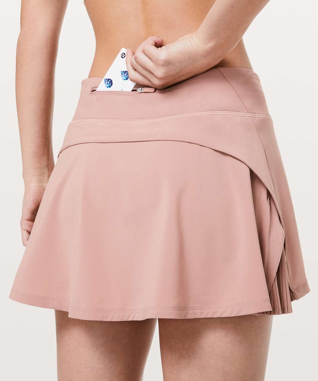 "Lululemon Play Off The Pleats Skirt *13"" - Copper Coil"