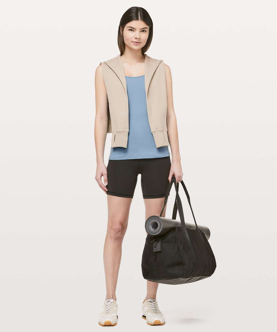 Lululemon Free To Be Tank *Nulu - Cascade Blue