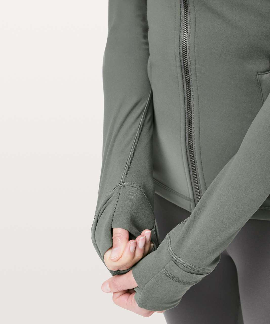 Lululemon Hooded Define Jacket *Nulu - Grey Sage