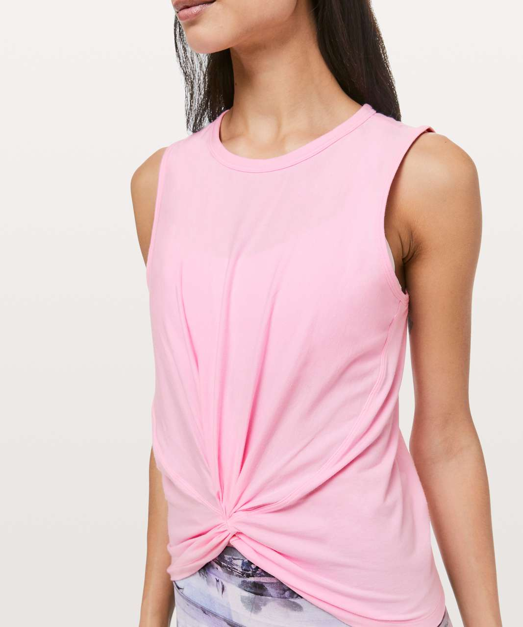 Lululemon Crescent Tank - Miami Pink Light