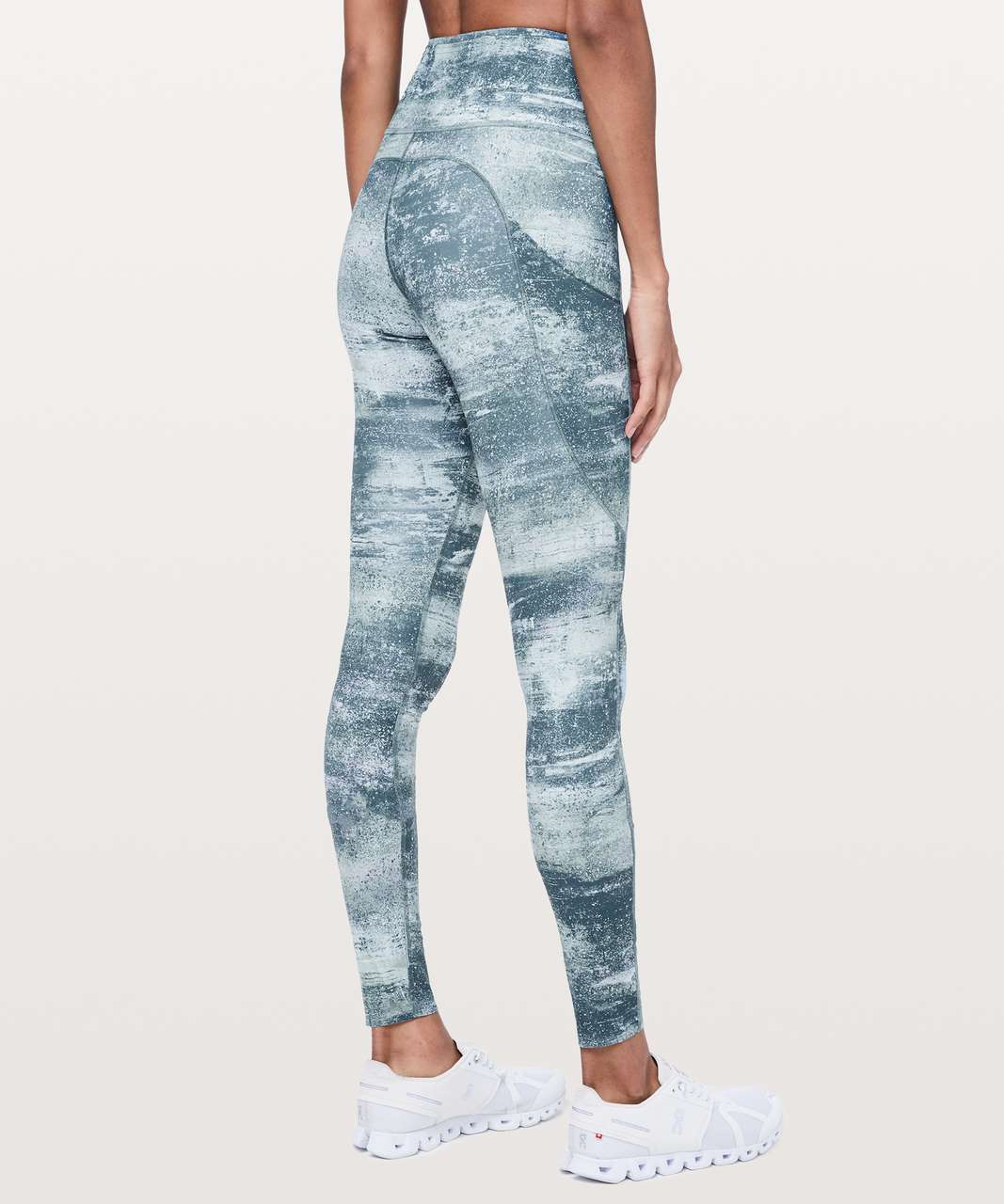 "Lululemon Fast & Free Tight *Tall Non-Reflective 31"" - Azurite Mint Tint Multi"
