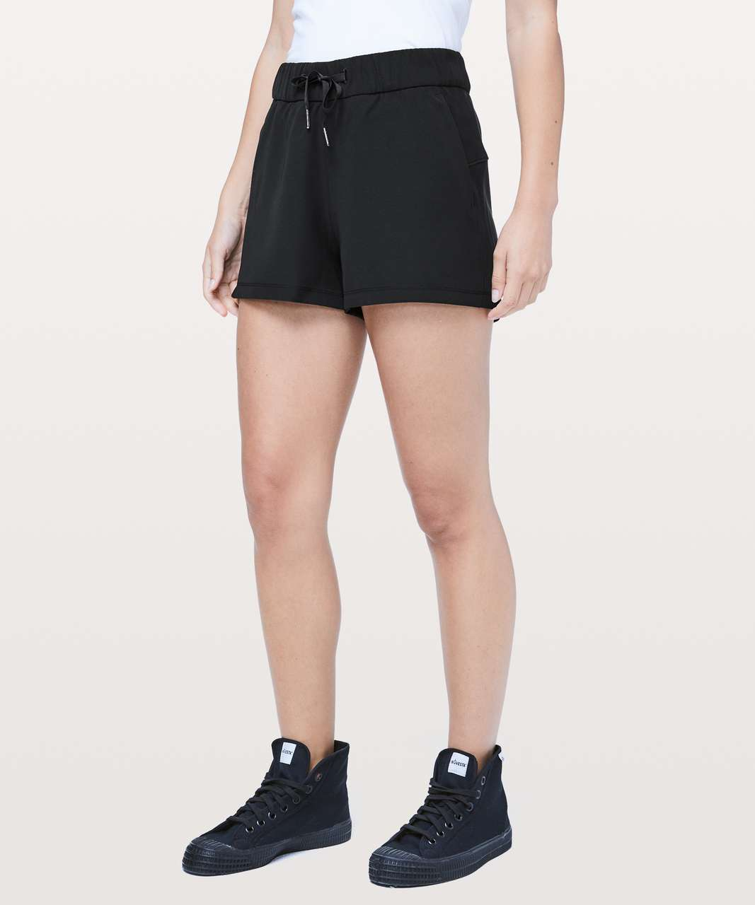 "Lululemon On The Fly Short *Woven *2.5"" - Black"