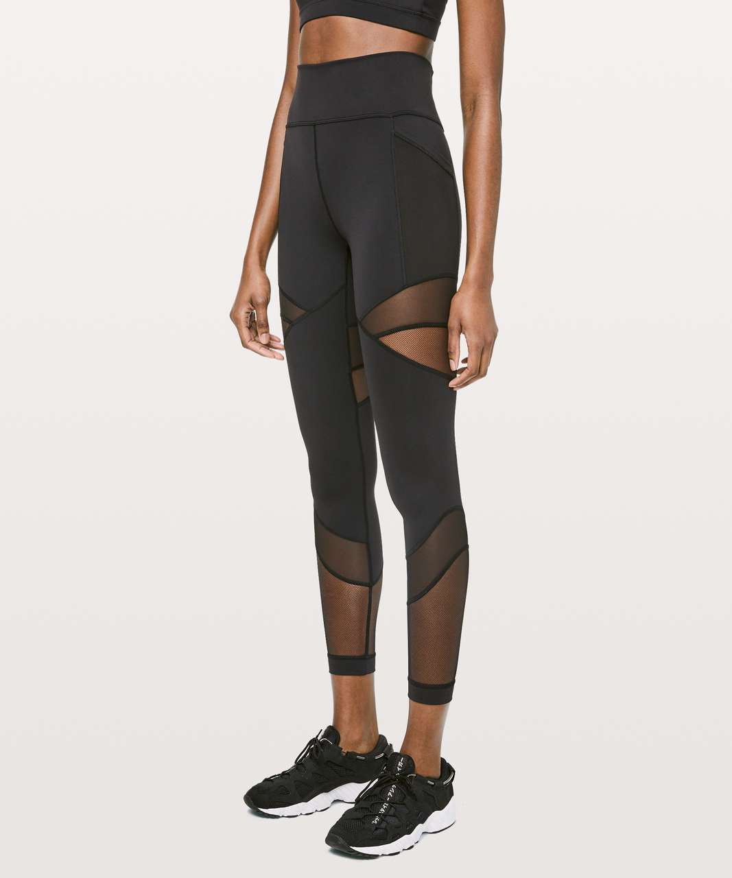 "Lululemon Forget The Sweat Tight *25"" - Black"