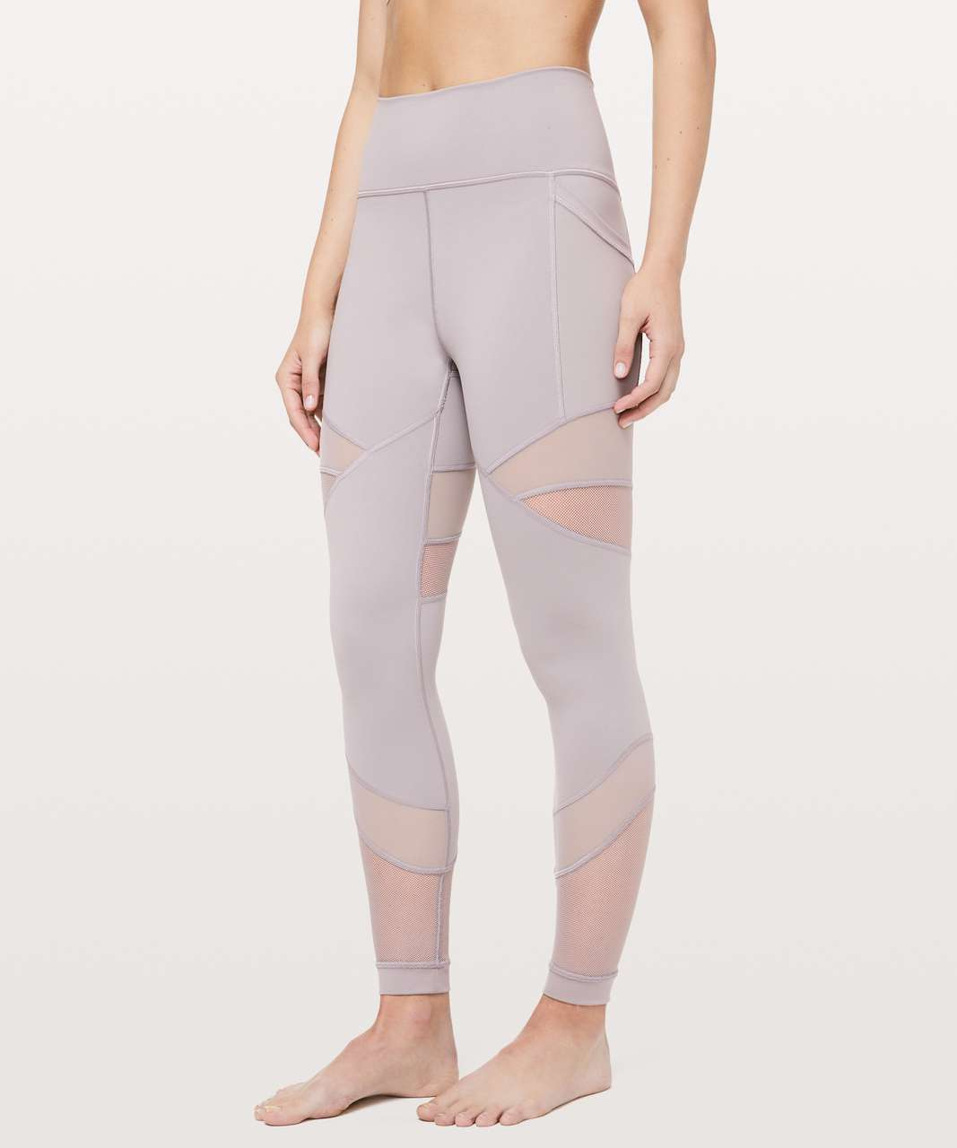 "Lululemon Forget The Sweat Tight *25"" - Dark Chrome"