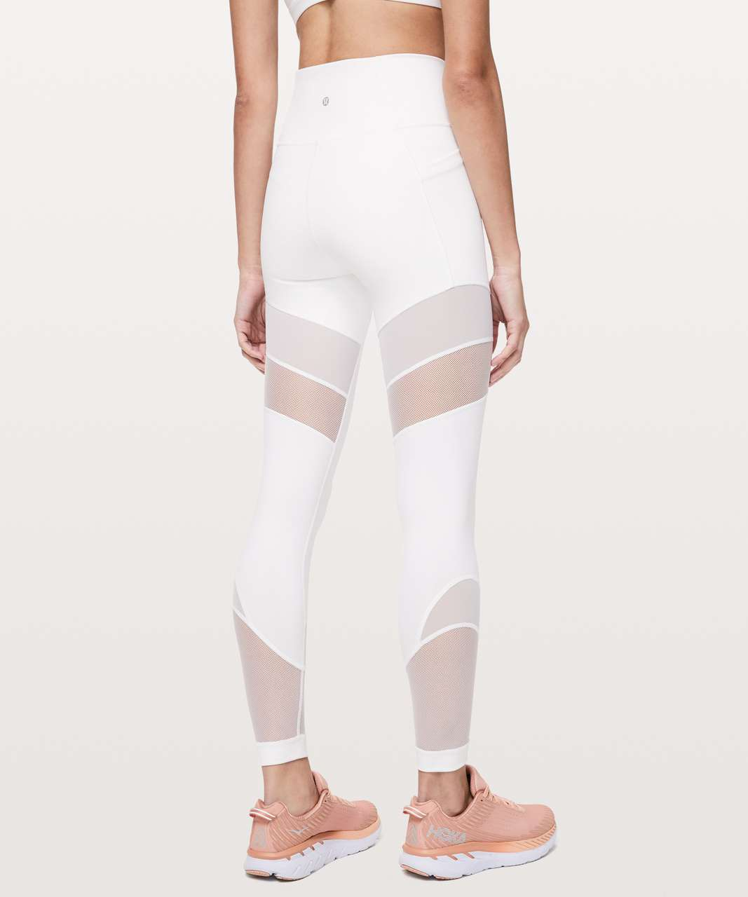 "Lululemon Forget The Sweat Tight *25"" - White"