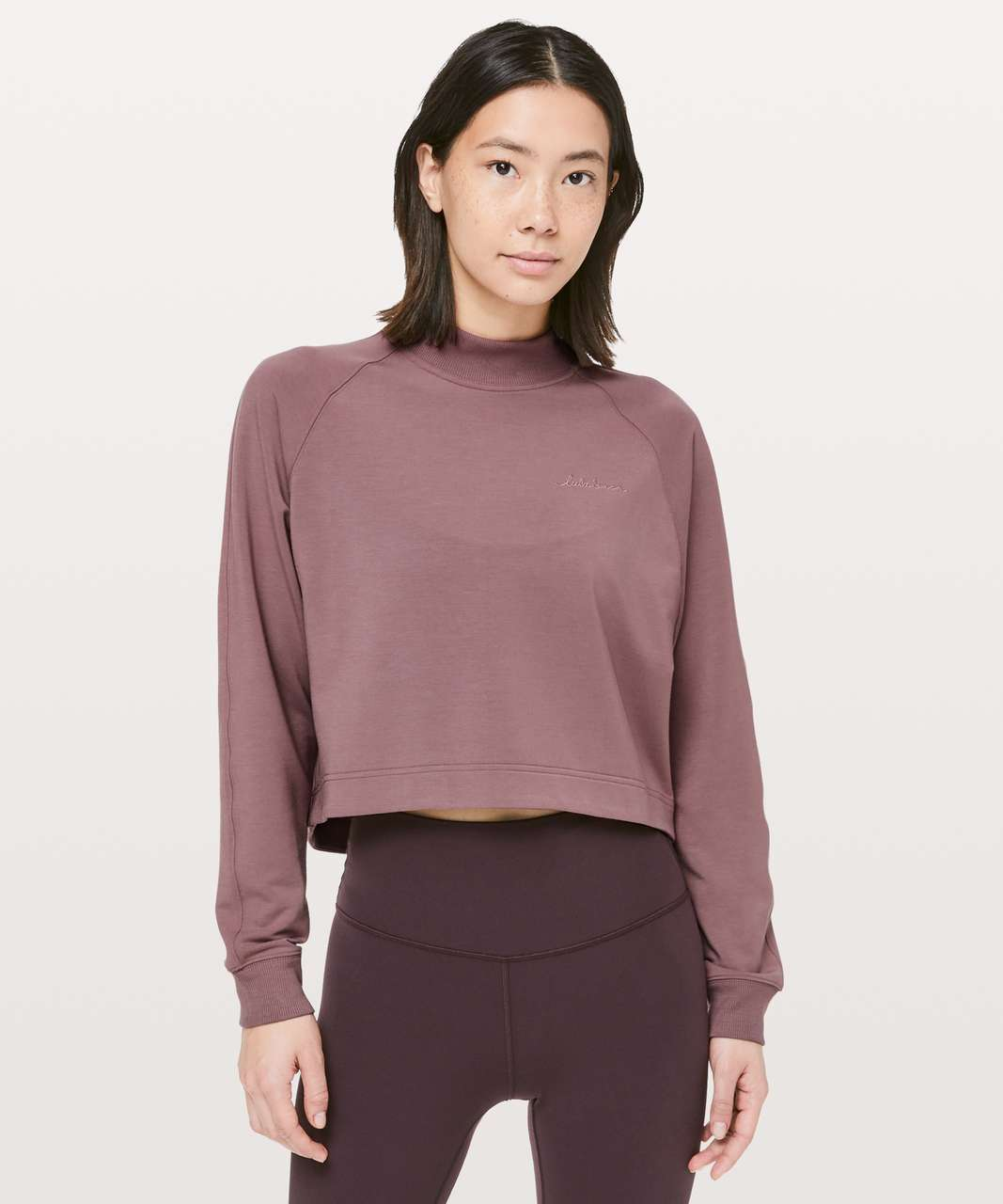 Lululemon Up High Pullover - Spanish Oak
