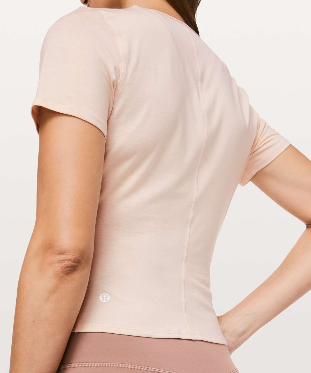 Lululemon Round Trip Short Sleeve - Heathered Nudie