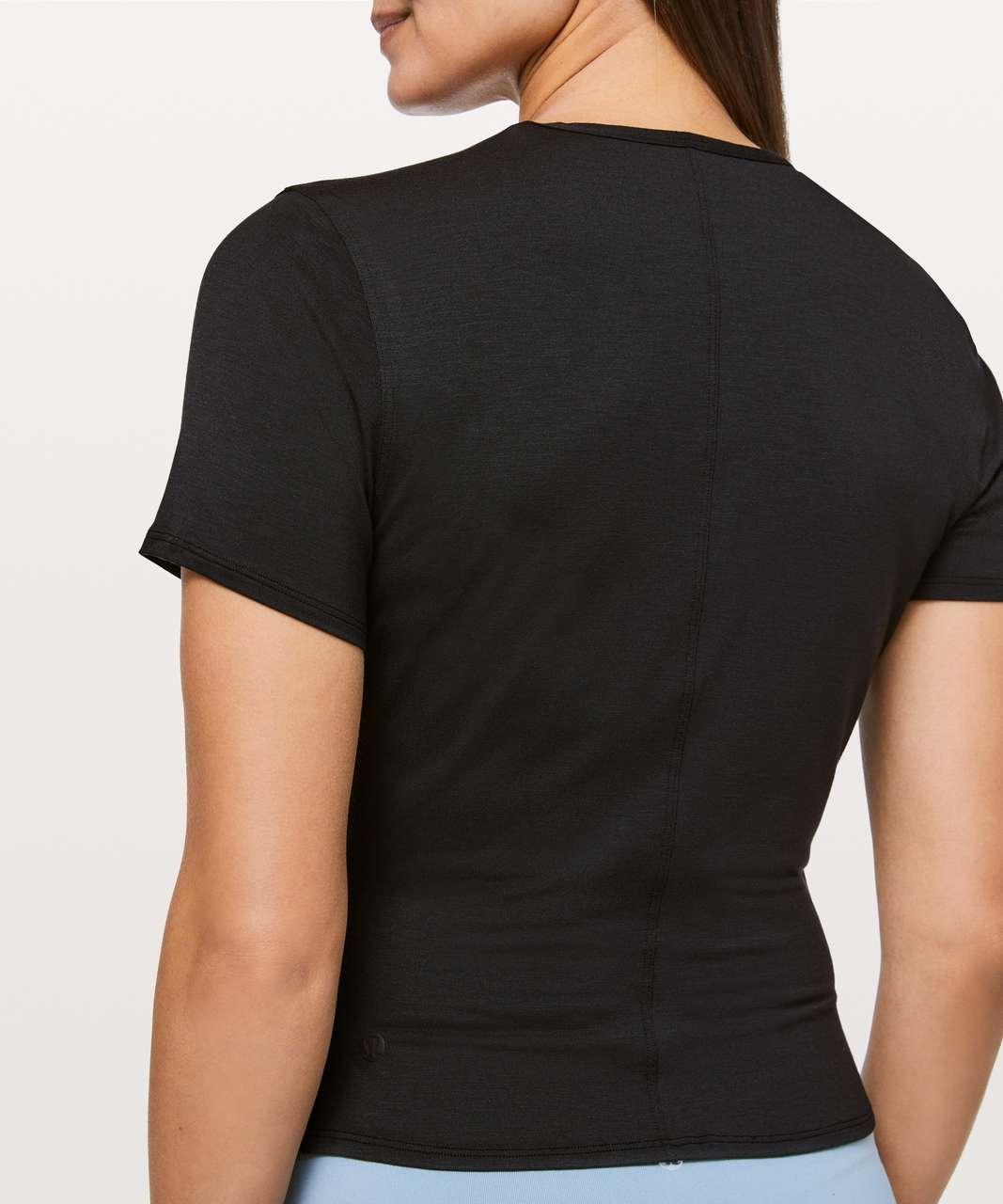 Lululemon Round Trip Short Sleeve - Black