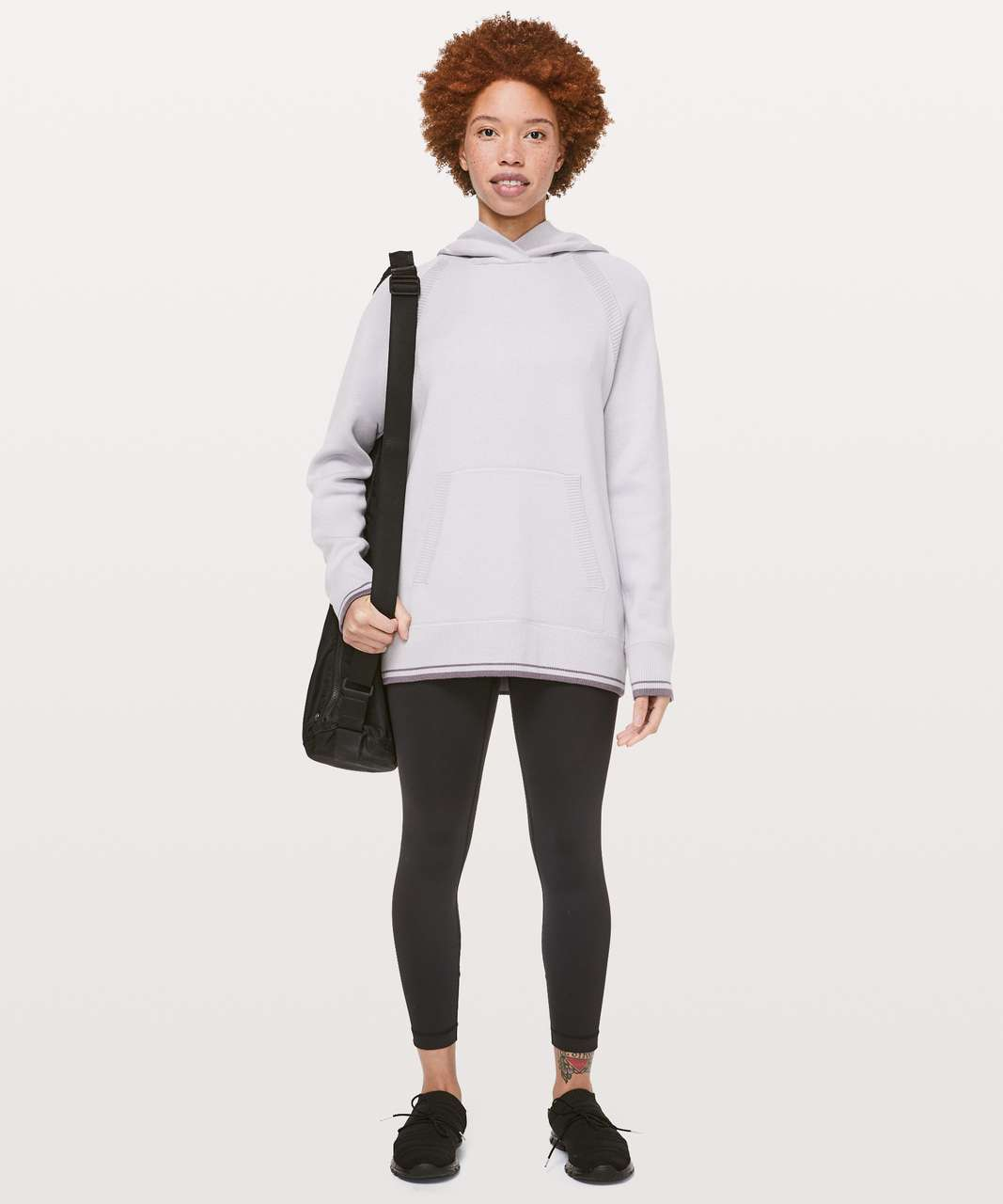 Lululemon Soothe Away Hoodie - Stargaze / Graphite Purple