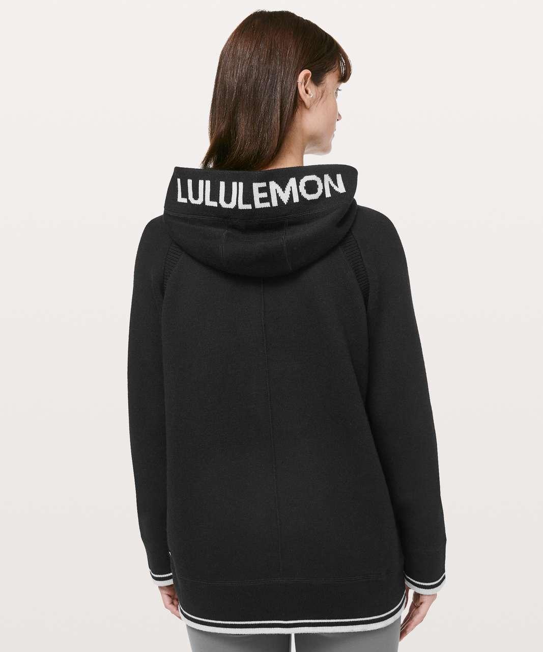 Lululemon Soothe Away Hoodie - Black / Stargaze