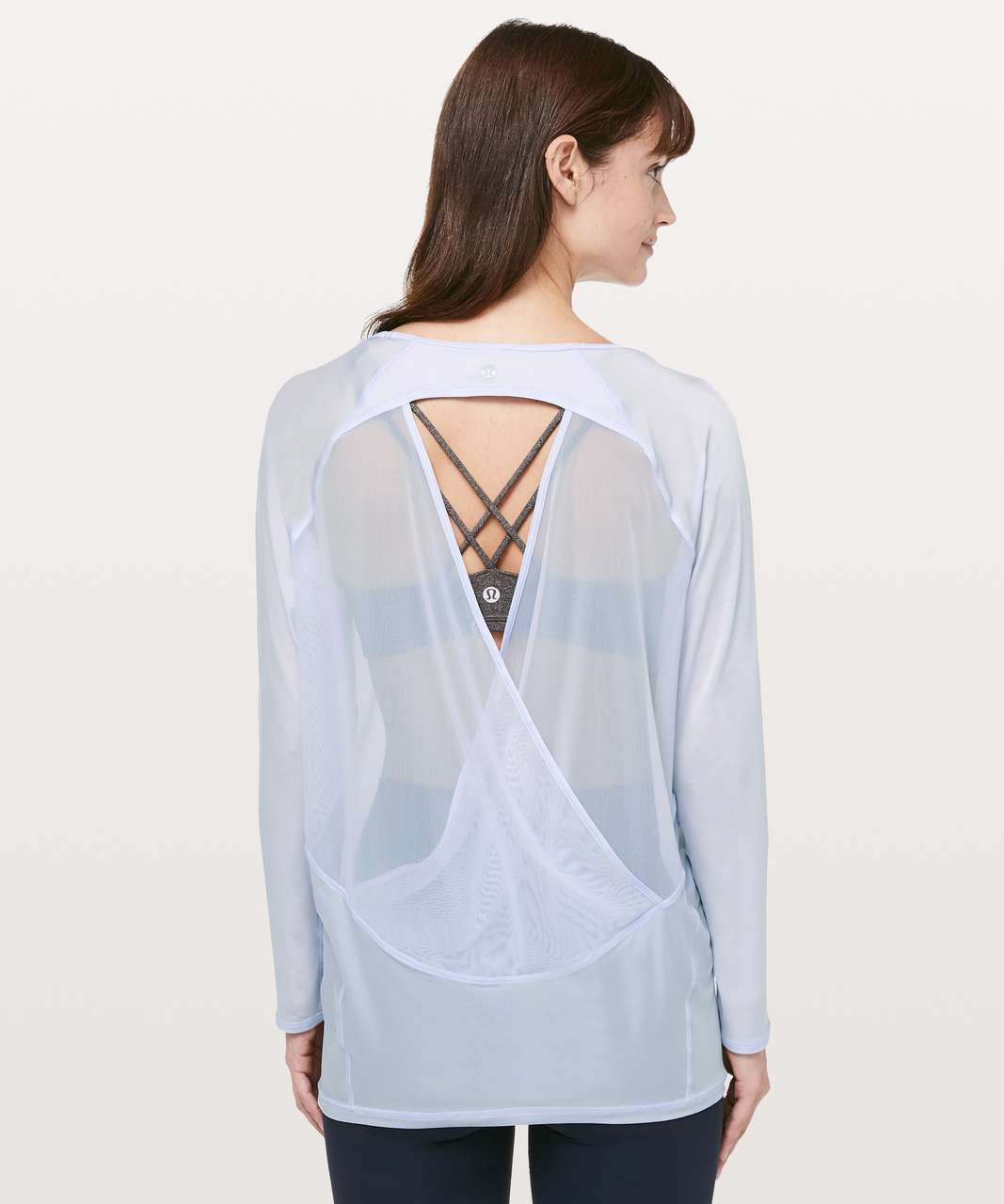 Lululemon If Youre Lucky Long Sleeve Tee - Serene Blue