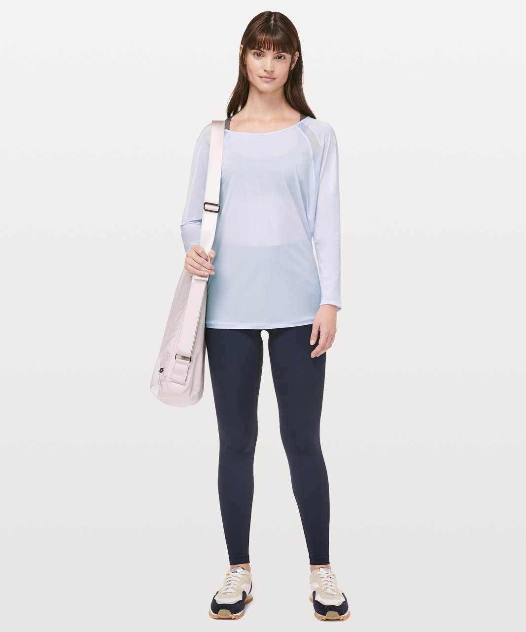 Lululemon If Youre Lucky Long Sleeve Tee - Serene Blue