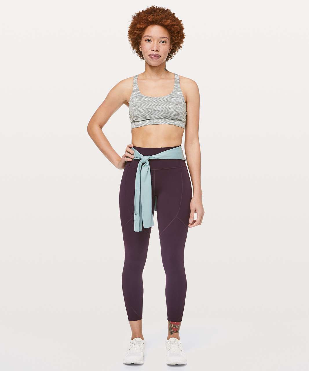 "Lululemon To The Beat Tight *24"" - Plum Shadow"