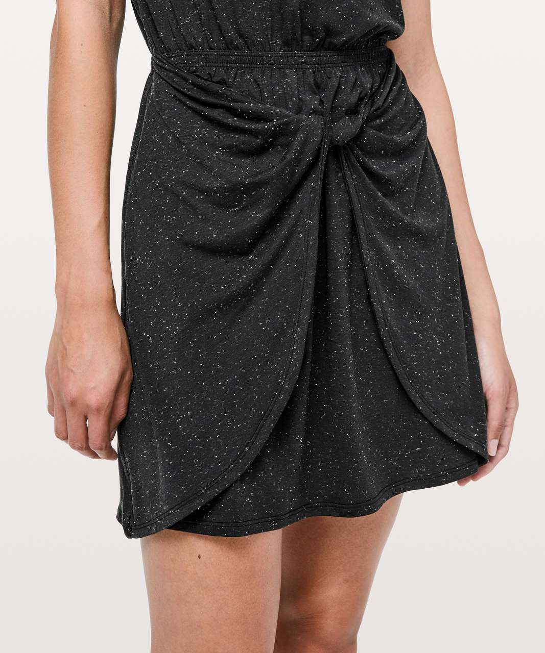 Lululemon Unwind Your Mind Dress - Black / White