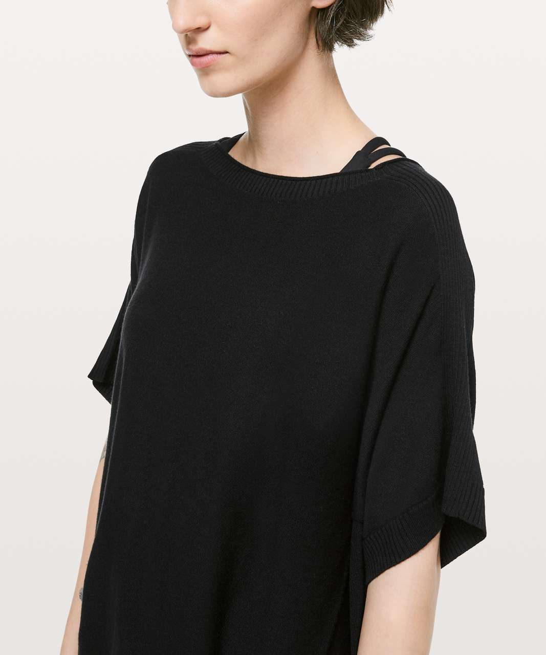 Lululemon Be At Ease Poncho - Black