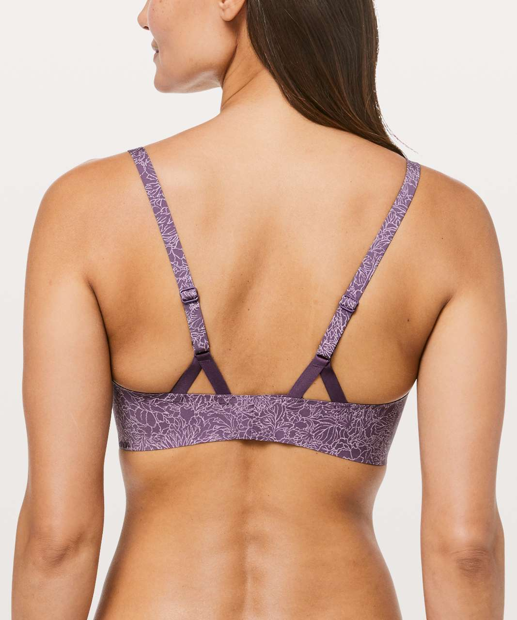 Lululemon Take Shape Bra - Arabesque Antoinette Smoky Quartz