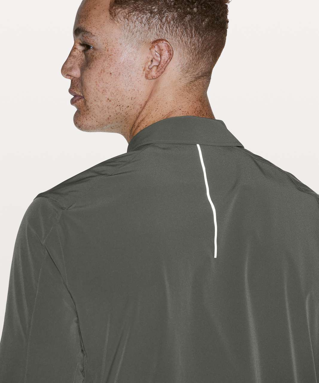 Lululemon Parkway Shacket - Grey Sage