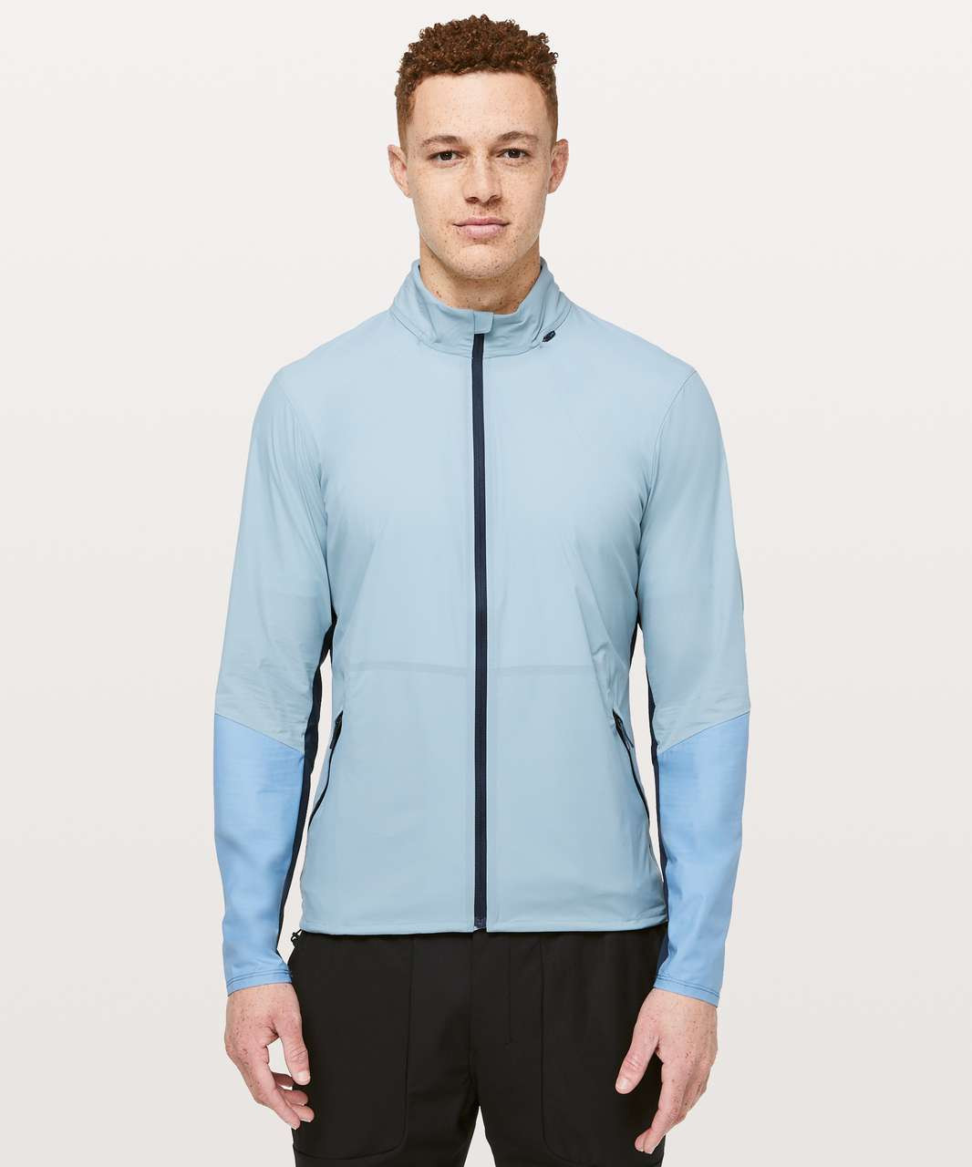 Lululemon Active Jacket - Blue Cast / Utility Blue / True Navy