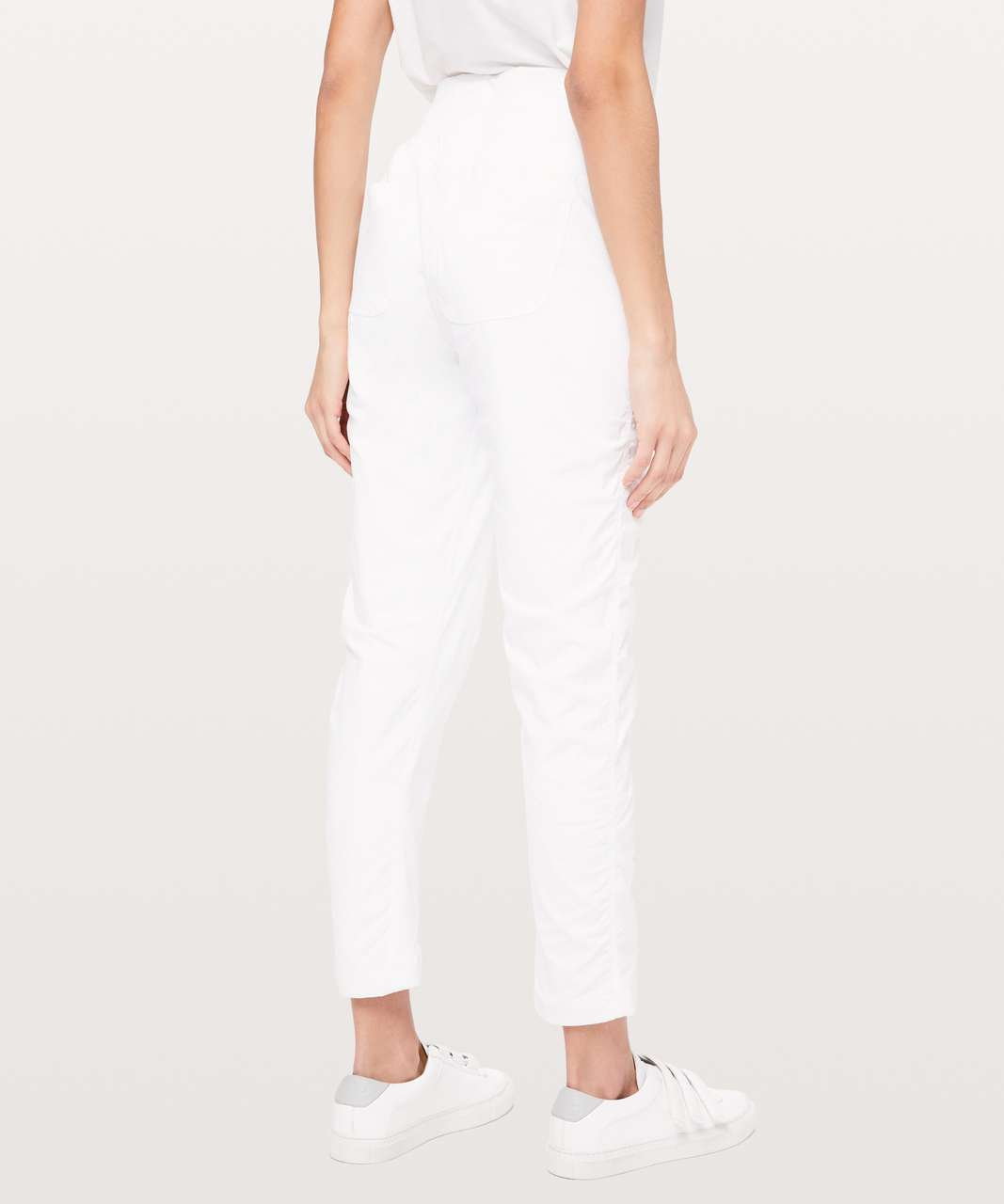 "Lululemon Street To Studio Pant II *Lined 28"" - White"