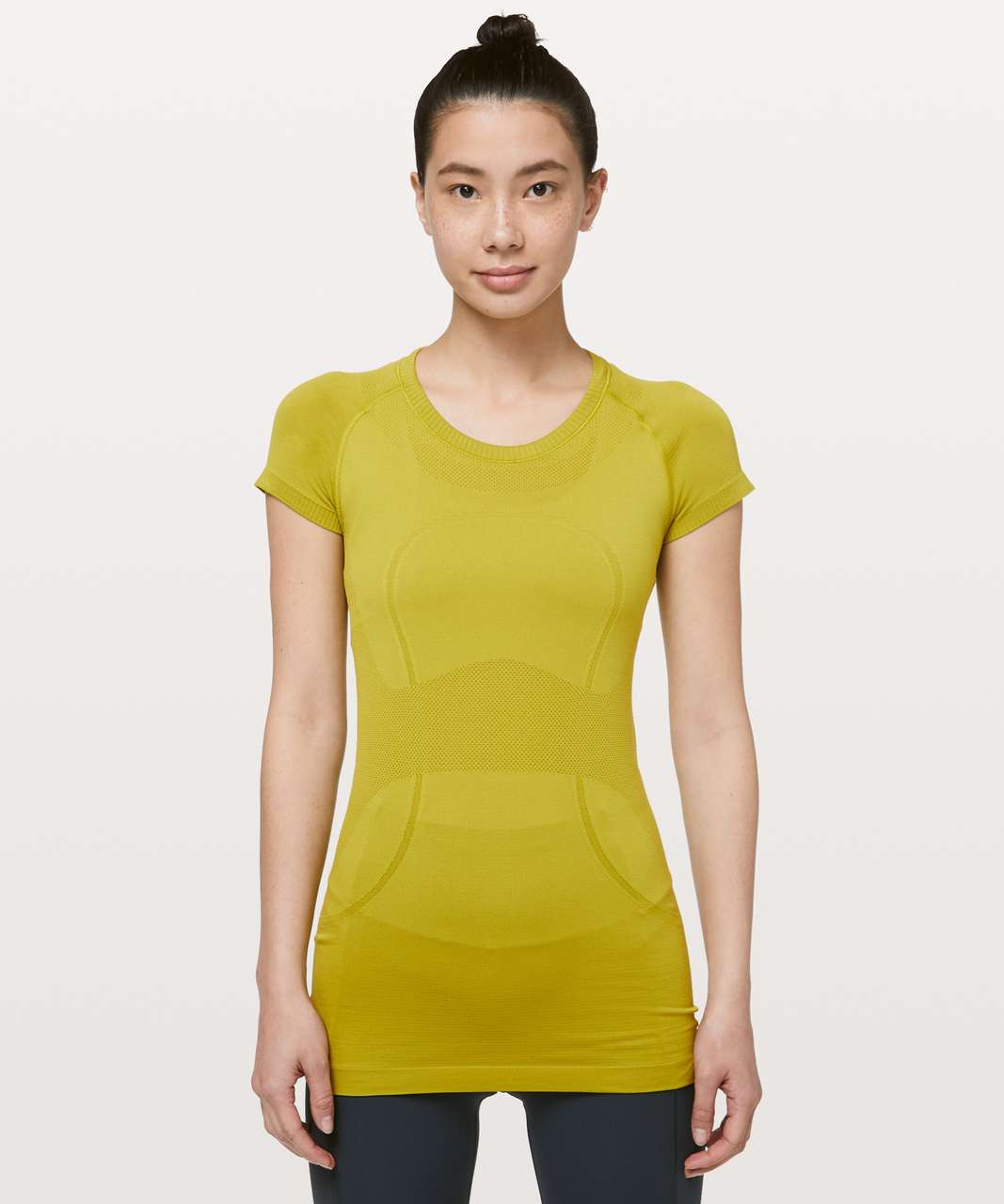 Lululemon Swiftly Tech Short Sleeve Crew - Golden Lime / Golden Lime