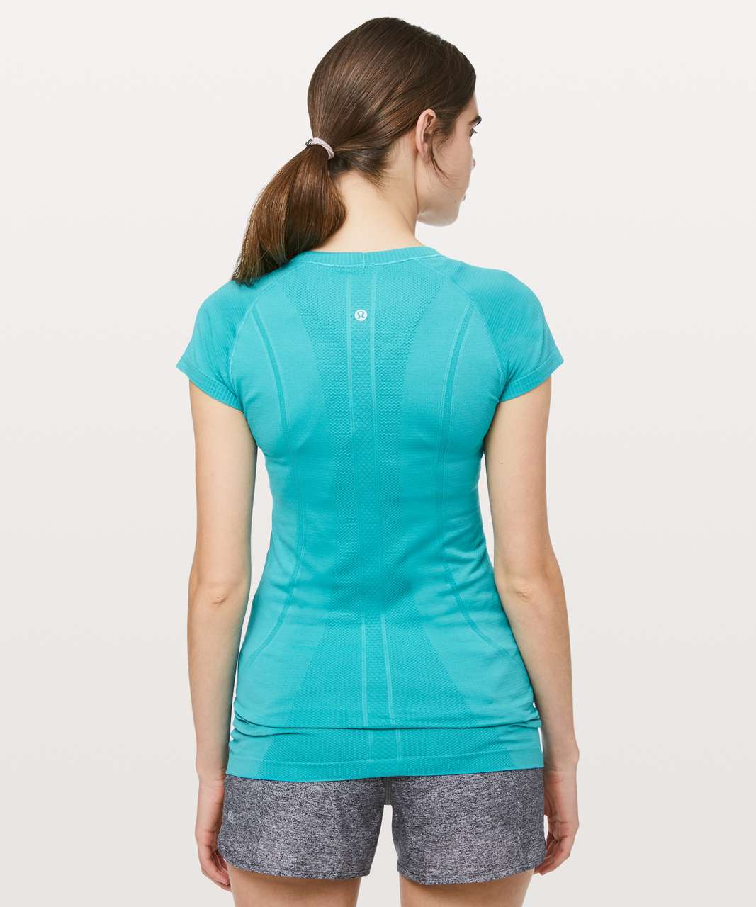 Lululemon Swiftly Tech Short Sleeve Crew - Amazonite / Amazonite