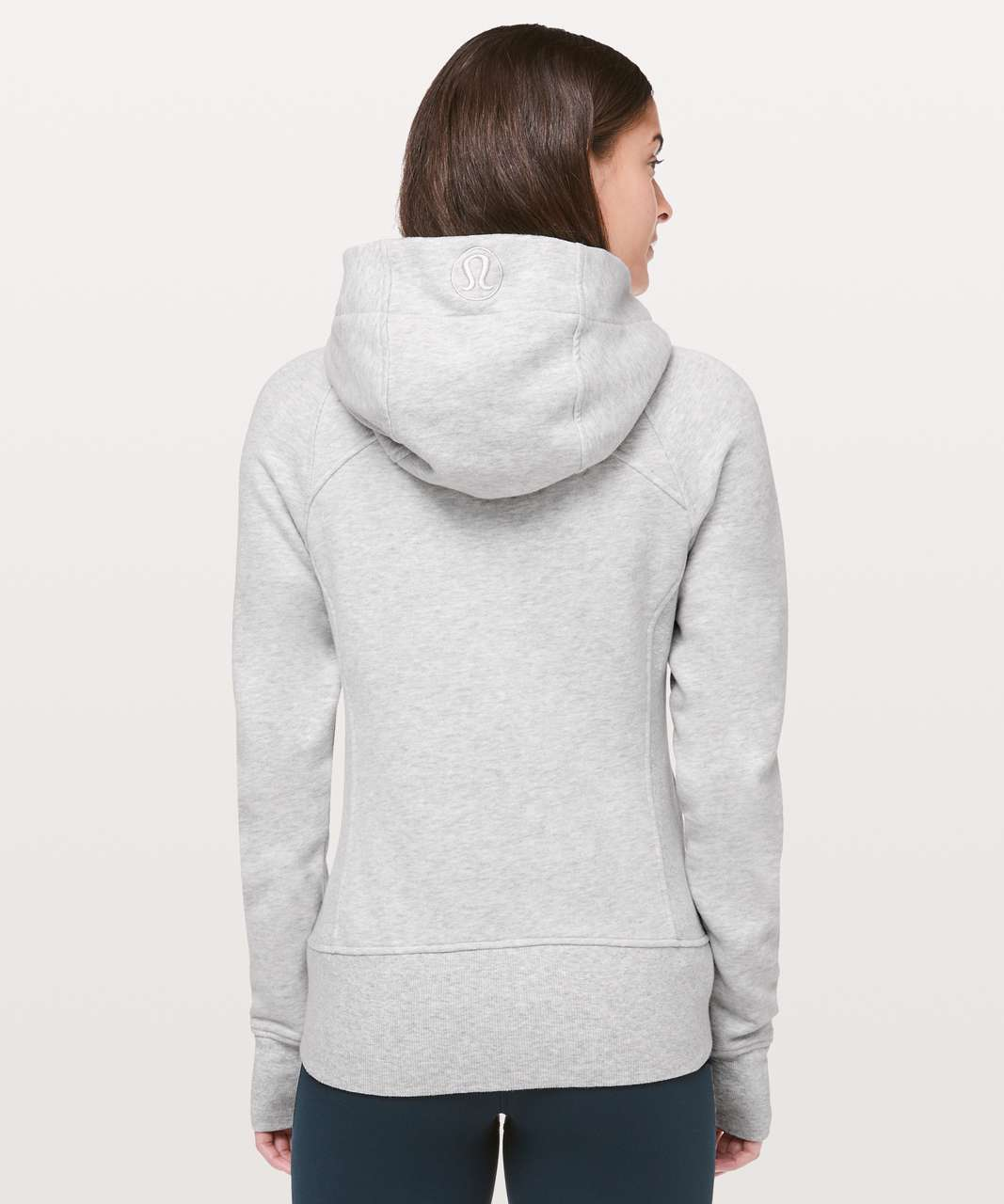 Lululemon Scuba Hoodie *Light Cotton Fleece - Heathered Core Ultra Light Grey