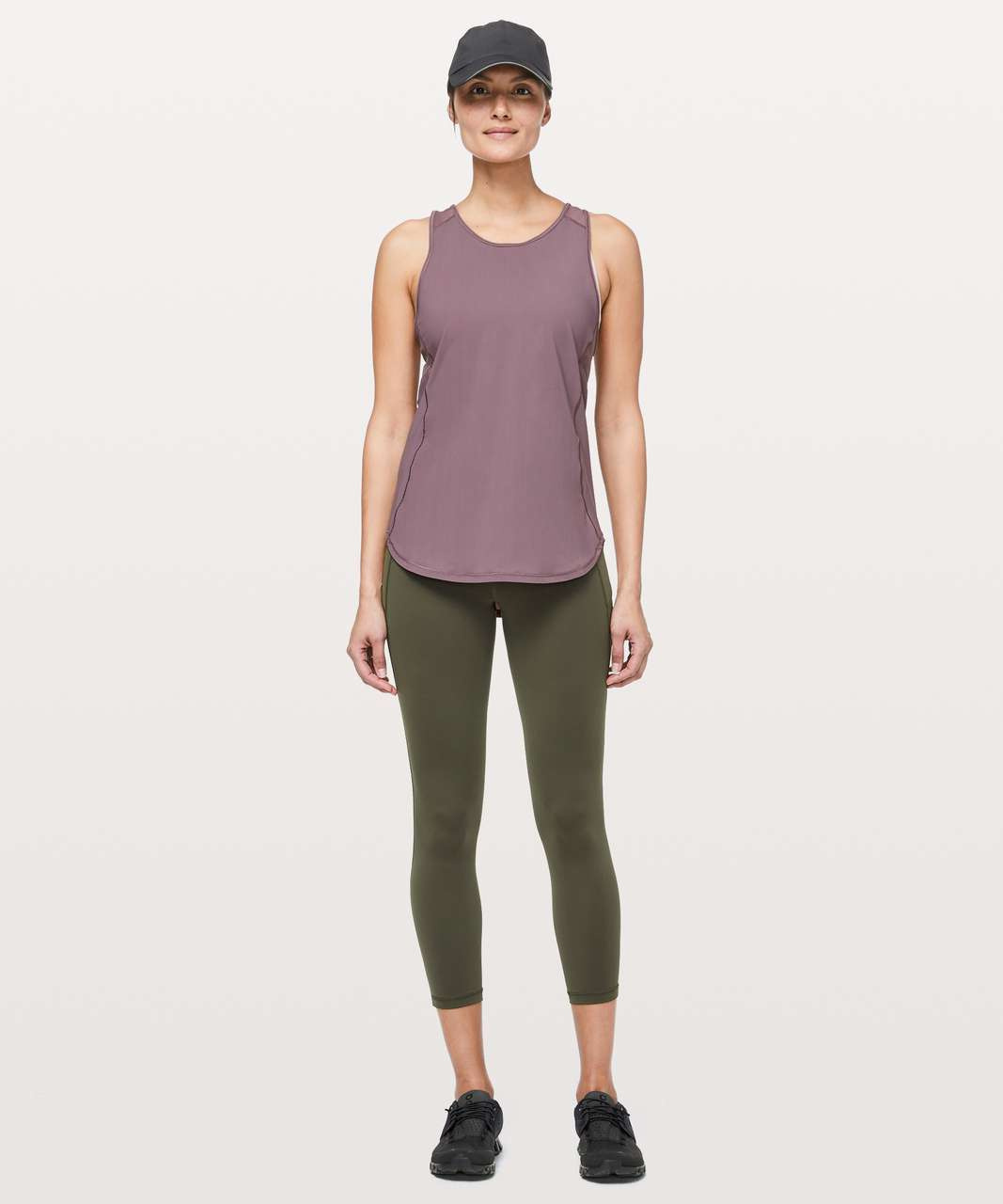 Lululemon Sculpt Tank II - Antique Bark
