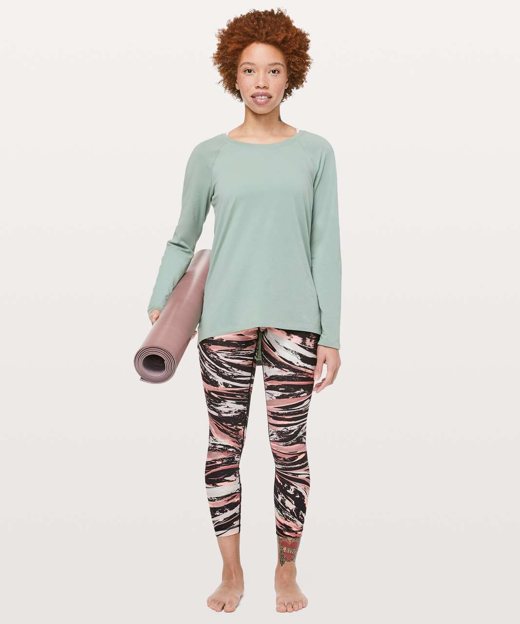 Lululemon Emerald Long Sleeve - Palm Court