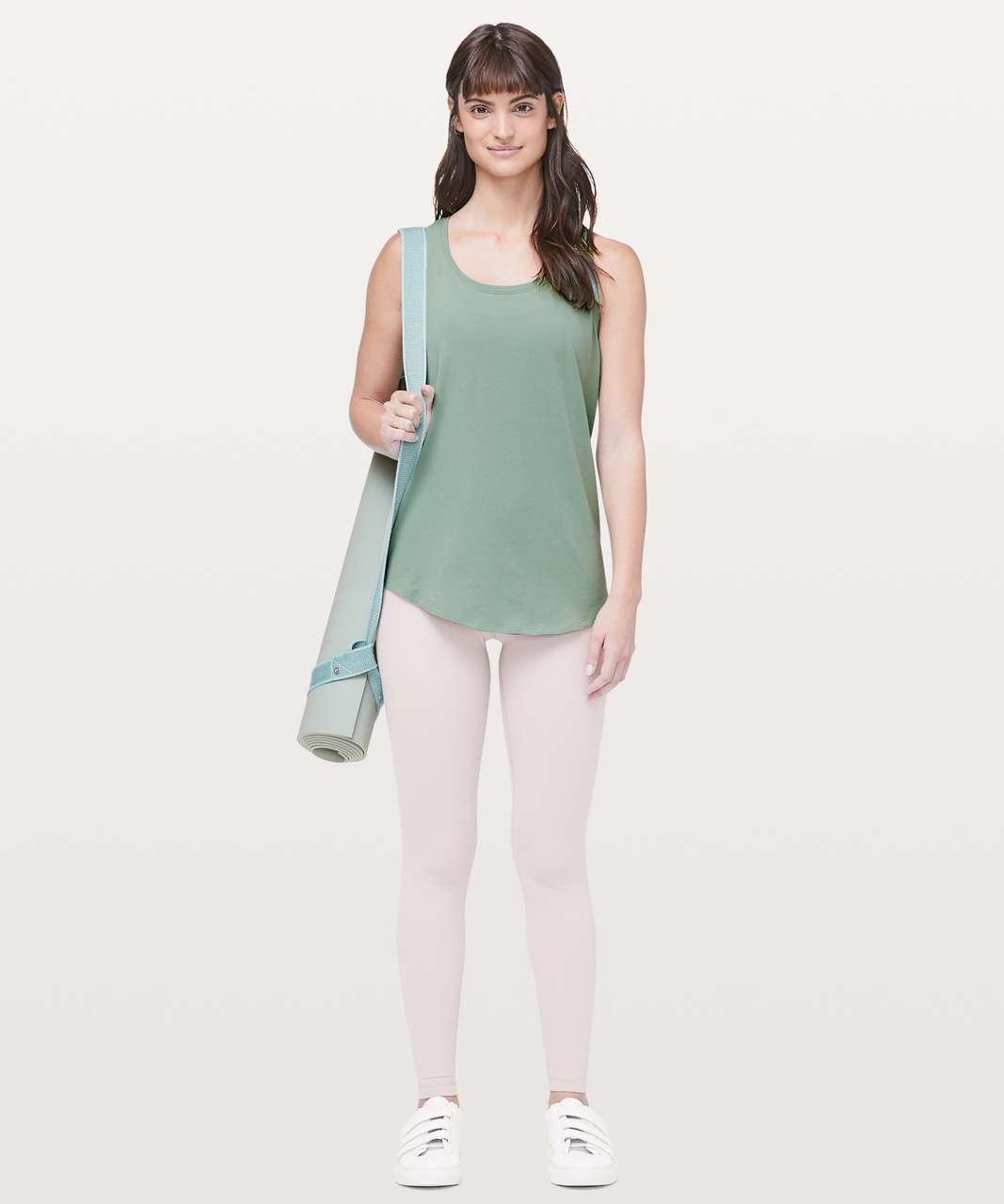 Lululemon Love Tank *Pleated - Palm Court