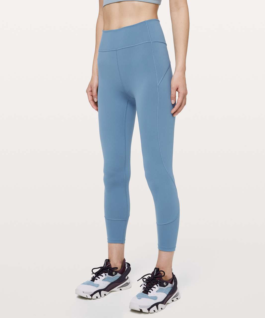 "Lululemon In Movement 7/8 Tight *Everlux 25"" - Utility Blue"