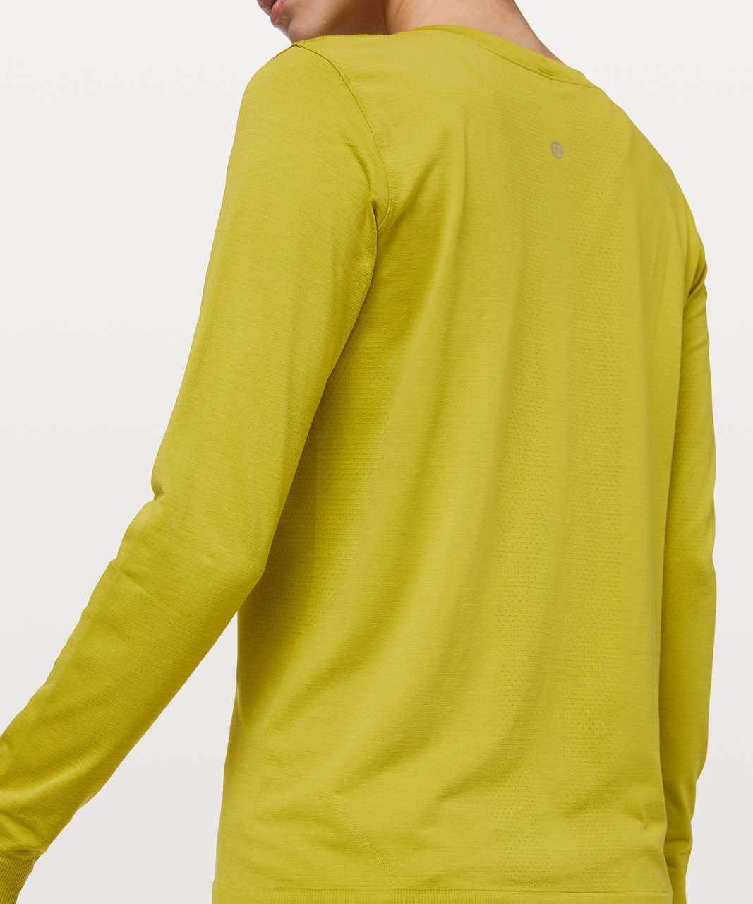 Lululemon Swiftly Tech Long Sleeve (Breeze) *Relaxed Fit - Golden Lime / Golden Lime