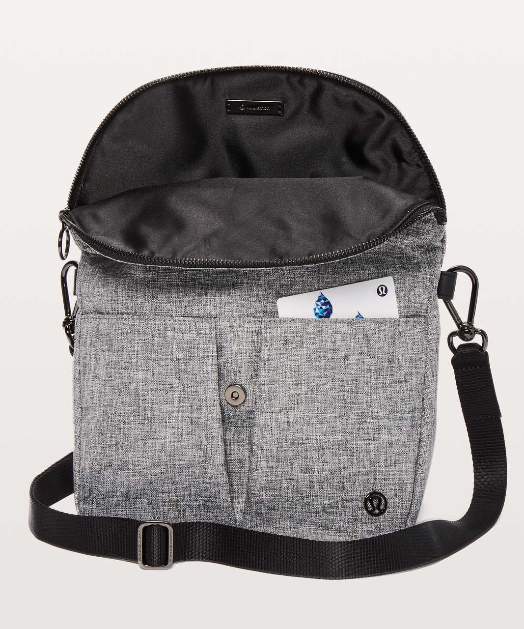 Lululemon All Night Festival Bag *5L - Heathered Black