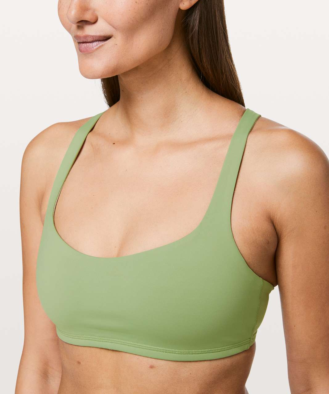 Lululemon Free To Be Bra - Vista Green